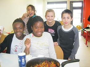 Atelier cuisine – Vacances de la Toussaint – Octobre 2012