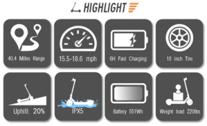 ninebot highlights    Segway Ninebot ES4