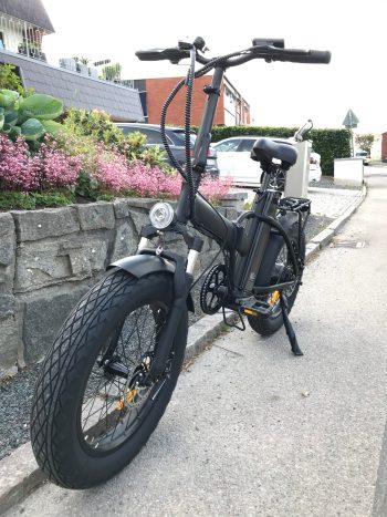 Ghostride elcykel på 250W