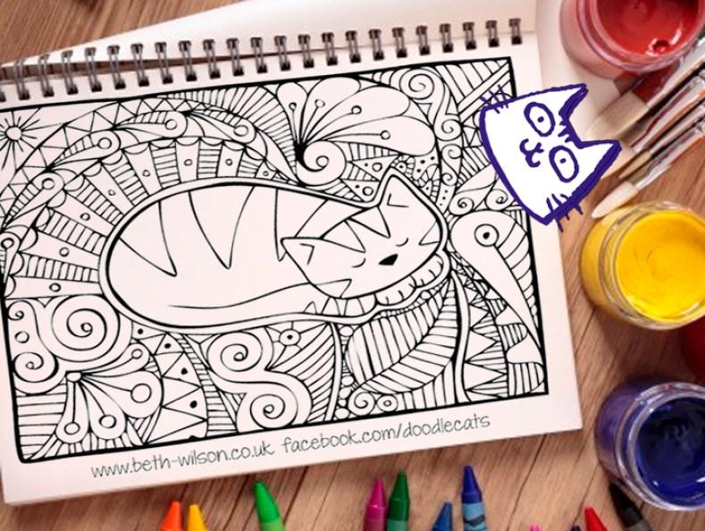 marcapaginas-y-mandala-doodlecats-feliway