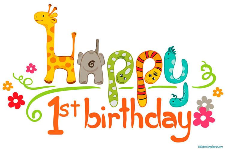 Feliz cumpleaños Blog. Ya tienes 1 año