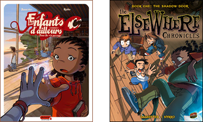 cover comparison: The ElseWhere Chronicles Book 1