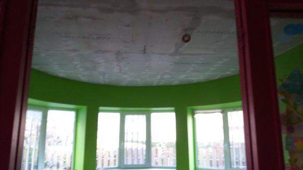 Επισκευή οροφών σε παιδικό σταθμό στο Μαρούσι