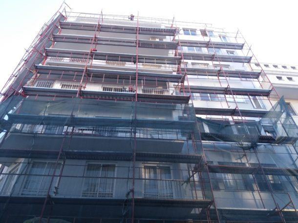 Ανακαίνιση κτιρίου σε Πειραιά επισκευή όψεων ανακαίνιση κλιμακοστασίου