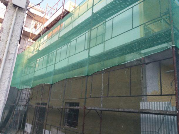 ανακαίνιση εξωτερικά κτιρίου
