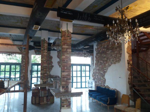 ανακαίνιση επαγγελματικού χώρου cafe bar madania