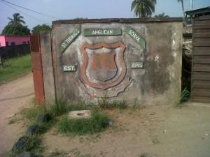 First school in Nigeria~St. Thomas Pry. Sch. Badagry in pix