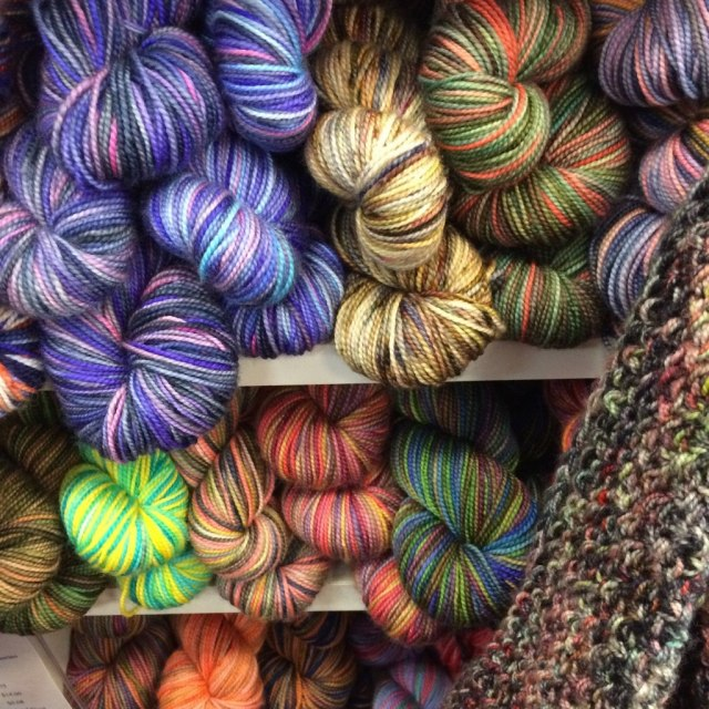Variegated yarns, Imagiknit