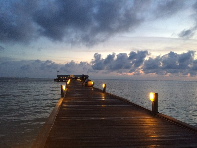 Anna Maria city pier sunrise