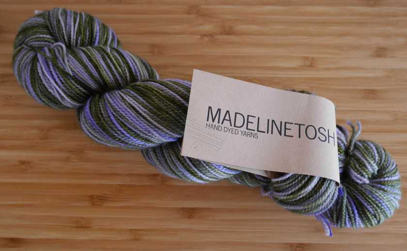 Madeline Tosh Sock yarn in Lichen