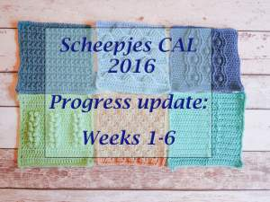 Dancing in the Sea – the Scheepjes CAL 2016 so far