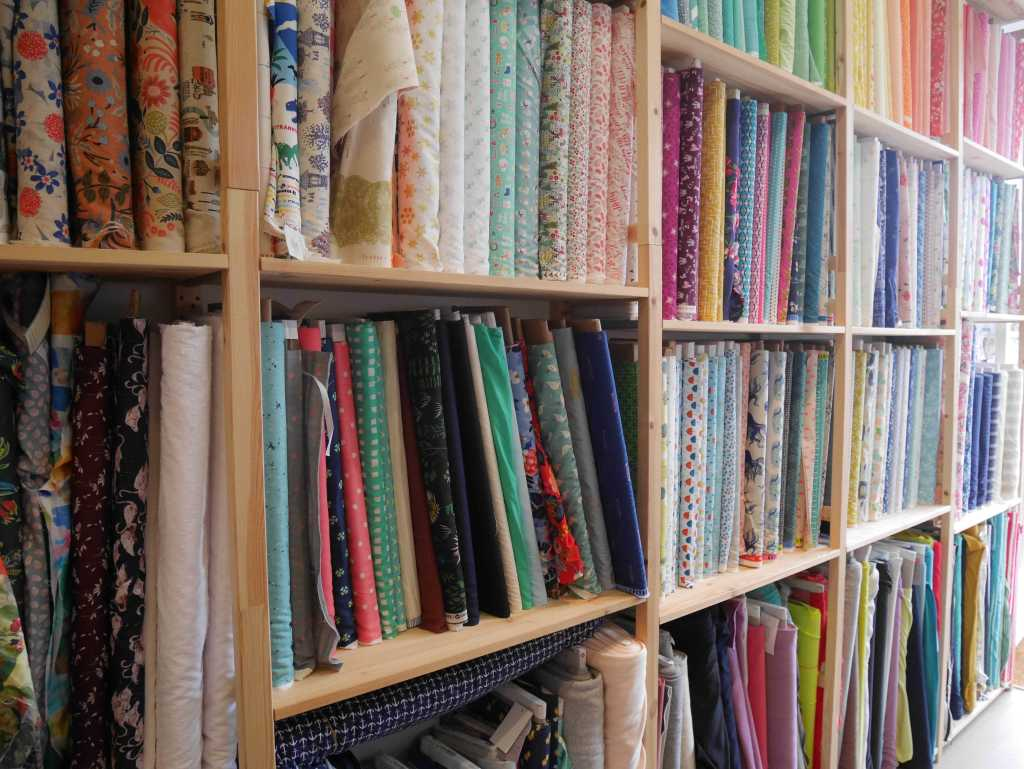 Fabrics in the Village Haberdashery, West Hampstead