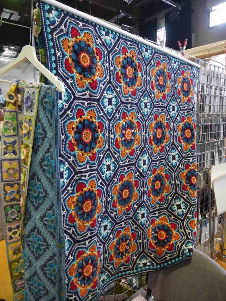 Persian Tiles Blanket at Unravel