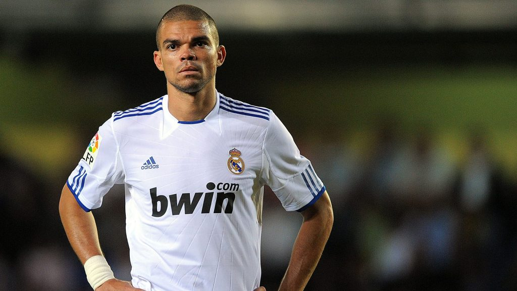 Pepe de real madrid