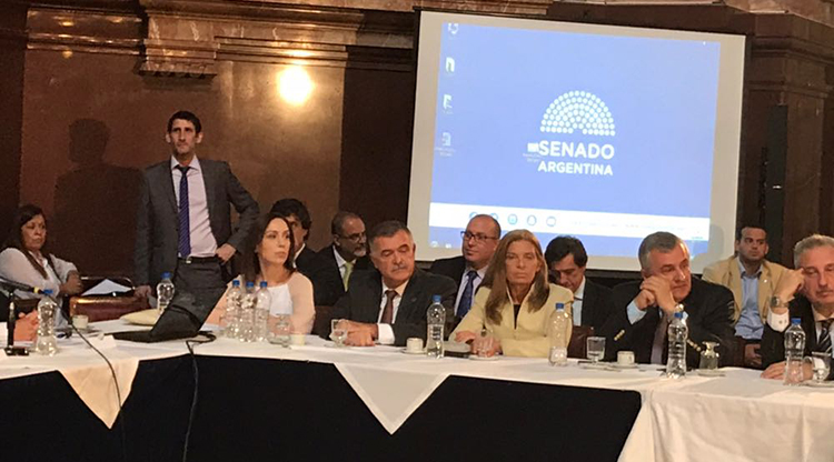 """Osvaldo Jaldo: """"El Pacto Fiscal da viabilidad a las Provincias y la Nación"""""""