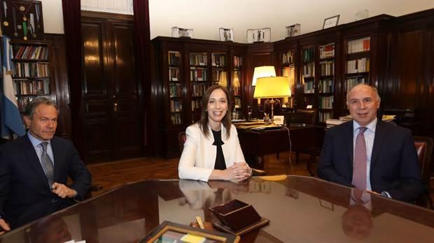 """La gobernadora Vidal se reunió con Lorenzetti y dijo que el reclamo por el Fondo del Conurbano """"es justo y legítimo"""""""