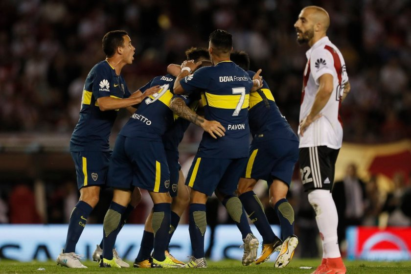 Boca le ganó 2 a 1 a River en el Monumental(VIDEO)