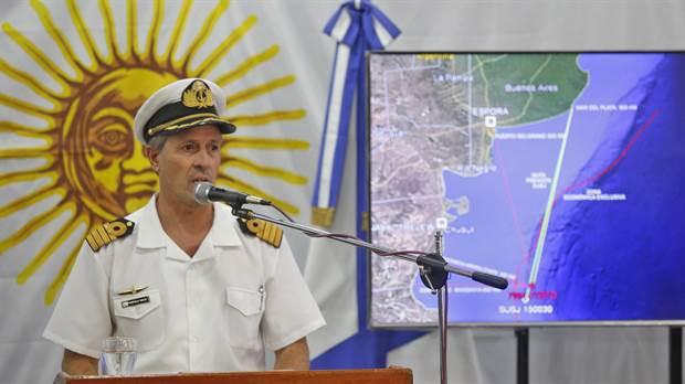 """Para la Armada Argentina, el informe que revela una explosión corta y mortal del submarino ARA San Juan """"es un indicio más"""""""