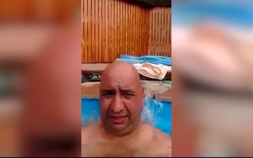 Un gendarme se burló de la búsqueda del submarino desde un jacuzzi y fue apartado de la fuerza