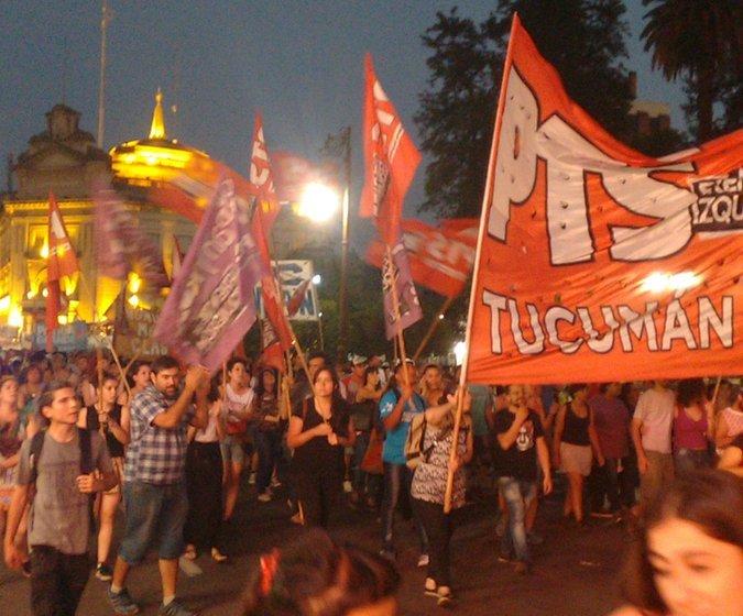 (VIDEO) Miles de tucumanos marcharon contra la reforma previsional