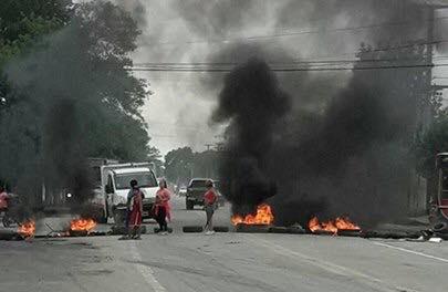 Corte en ruta 315:  Continúa la inacción del gobierno y de la politica, la sufren 35.000 tucumanos de Villa Carmela