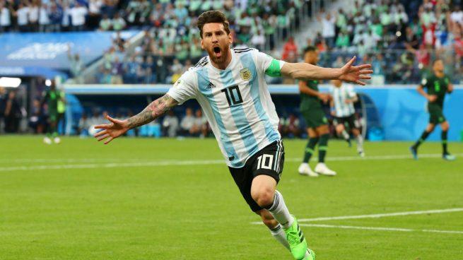 """ARGENTINA A OCTAVOS DEL MUNDIAL, LE GANO 2 A 1 A NIGERIA"""