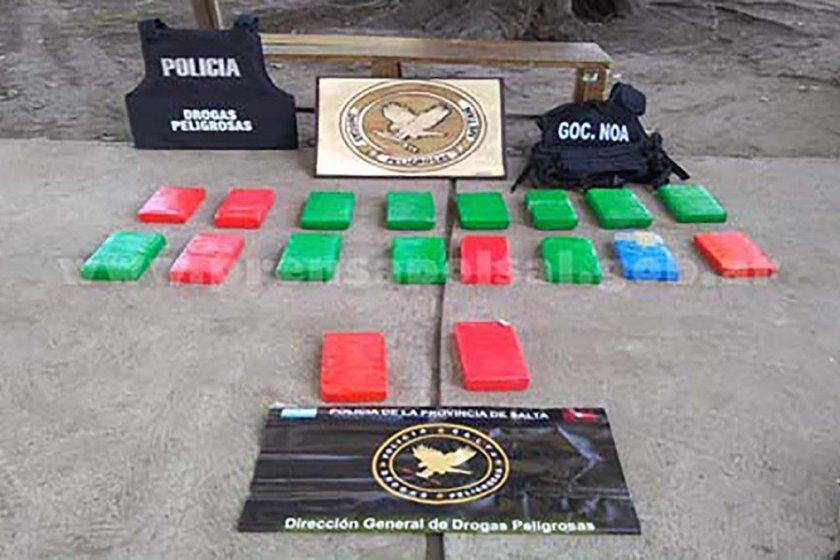 Un familiar del senador nacional Juan Carlos Romero fue detenido con 20 kilos de cocaína