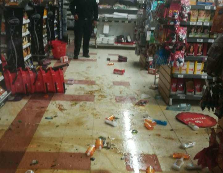 Mendoza: Refuerzan la seguridad por saqueos a supermercados(VIDEOS)