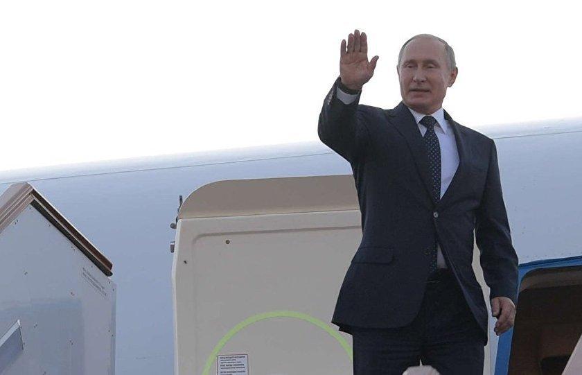 Vladimir Putin llegó a Buenos Aires para la cumbre del G20