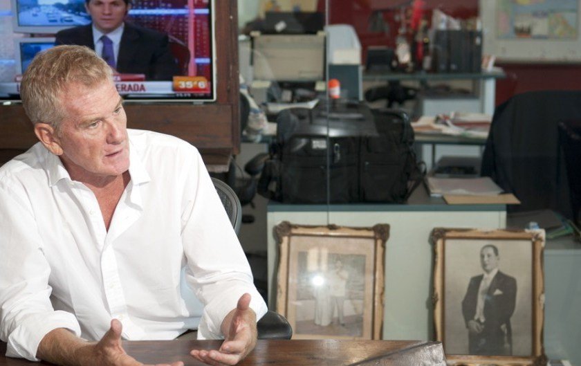 """"""" PUM PARA ABAJO """" : De Narváez toma distancia de Tinelli y se acerca al peronismo de Massa y los gobernadores"""