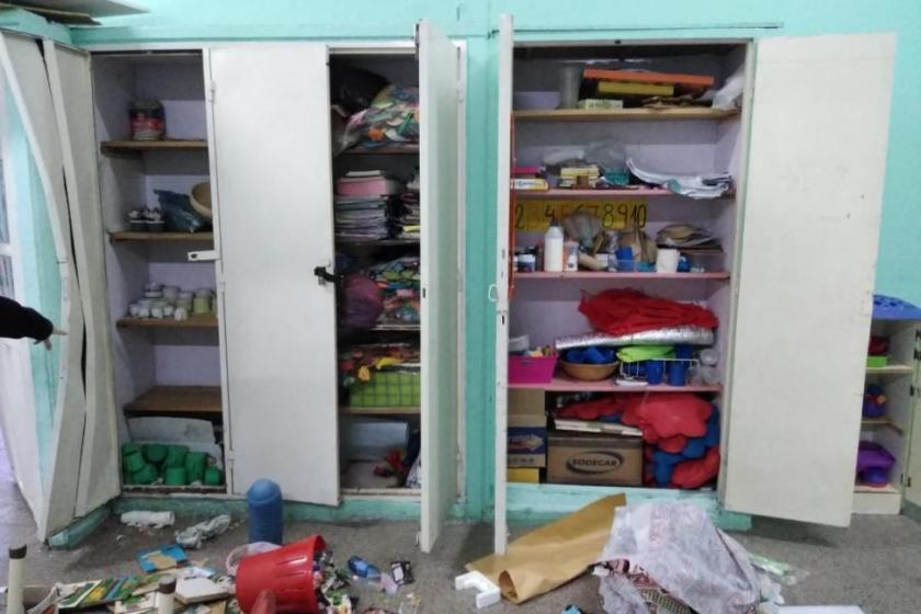La comunidad educativa de la Escuela Guillermo Griet pide ayuda para detener los constantes robos
