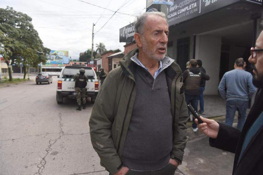 Por posibles sobornos por U$S 240 millones y enriquecimiento ilícito, Gendarmería allanó cinco propiedades del funcionario provincial Jorge Neme