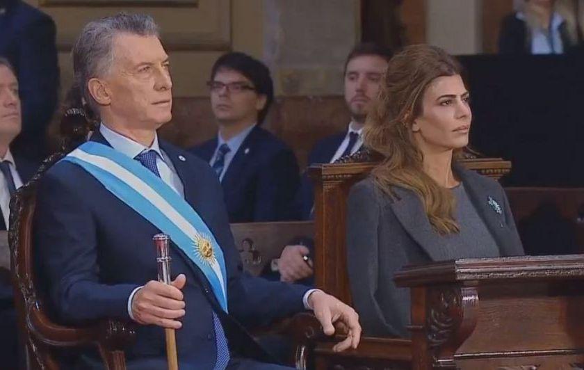 El Presidente Mauricio Macri en el solemne Tedeum del 25 de Mayo(EN VIVO)