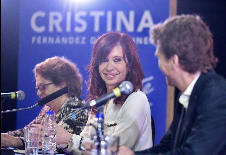 """Cristina Kirchner: """"Cuando me fui había 207 mil planes, hoy más del doble, casi 500 mil"""""""