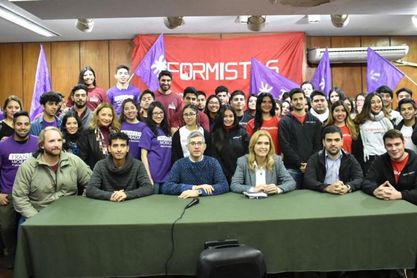 ELECCIONES: Elías de Pérez prometió extender el boleto universitario a toda la provincia