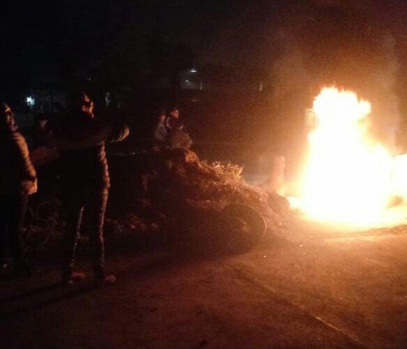 ARDE LA CIUDAD:  Vecinos de Avenida Colon y canal Sur exigen seguridad en la zona