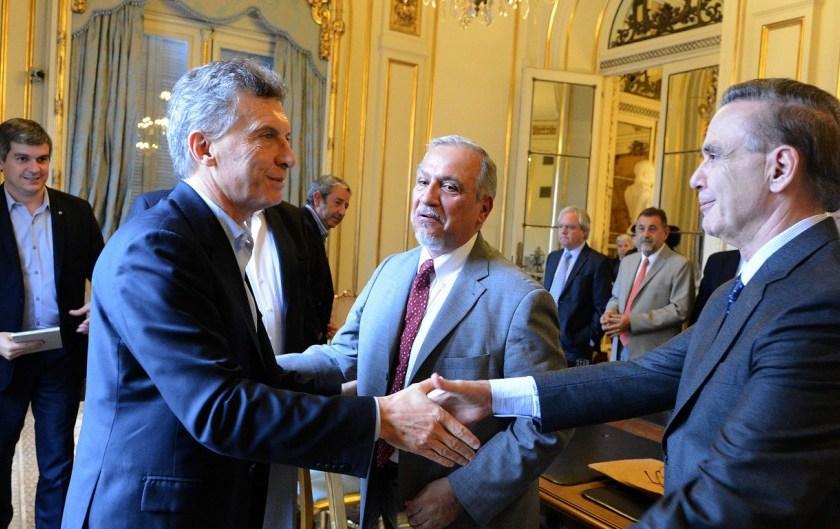 """El presidente Macri justificó la elección de Pichetto: """"Es un hombre de Estado"""""""