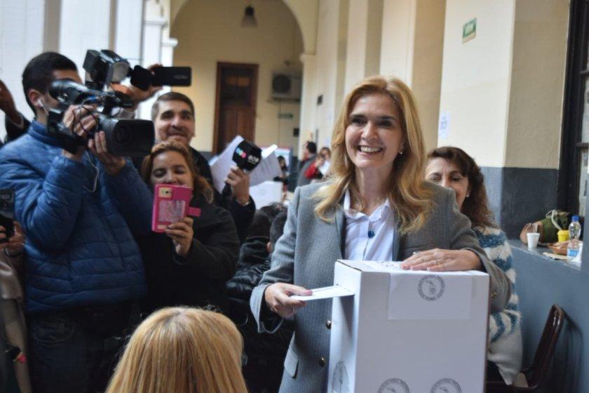 """TUCUMAN VOTA: Elias de Perez, voto y expreso """"nosotros en Tucumán somos un espacio mas amplio que Cambiemos"""""""