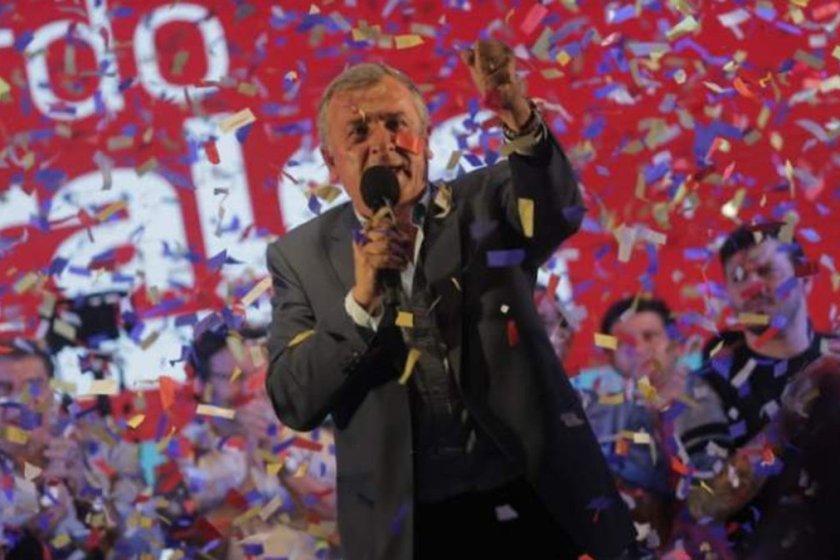 Gerardo Morales ganó en Jujuy y le dio el primer triunfo a Cambiemos