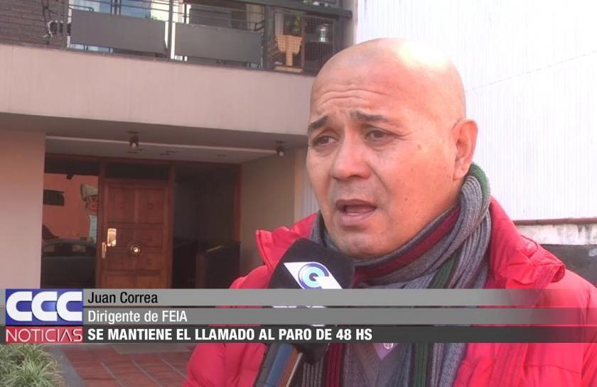 GREMIALES: La Justicia Federal debe resolver la situación del titular de la FEIA, Juan Correa, por falsificar documentación