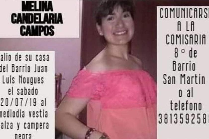 Se Busca a una joven tucumana que desapareció el sábado