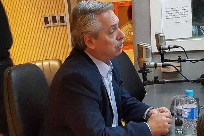 """Alberto Fernandez se sigue peleando con la prensa, ahora con el periodista más influyente de Córdoba: """"Usted miente y tergiversa"""""""