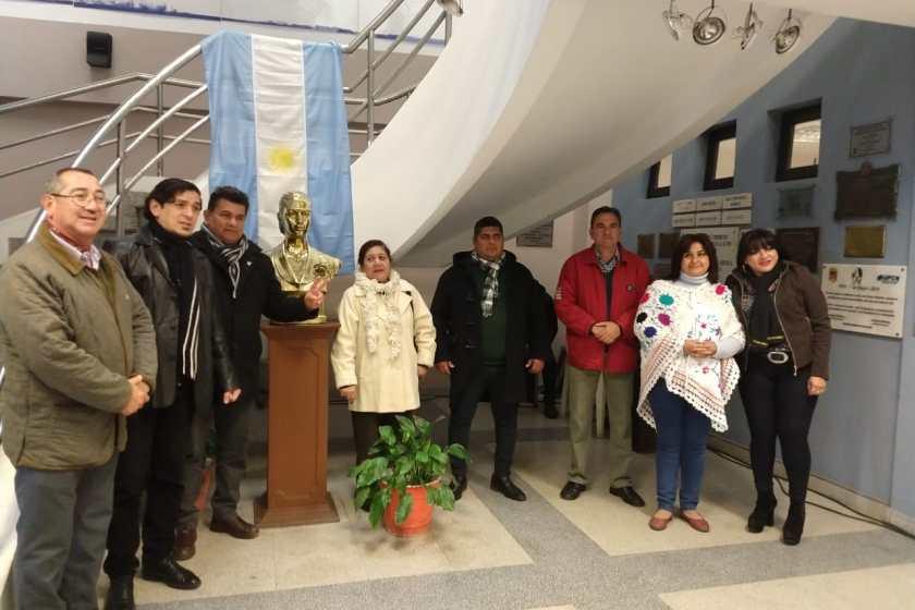 Emotivo homenaje a Eva Peron  en la sede del PJ Tucuman