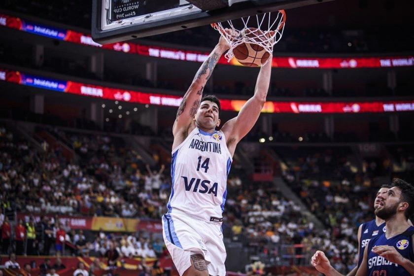 Argentina-Francia por semifinales del Mundial de China 2019 ( EN VIVO)