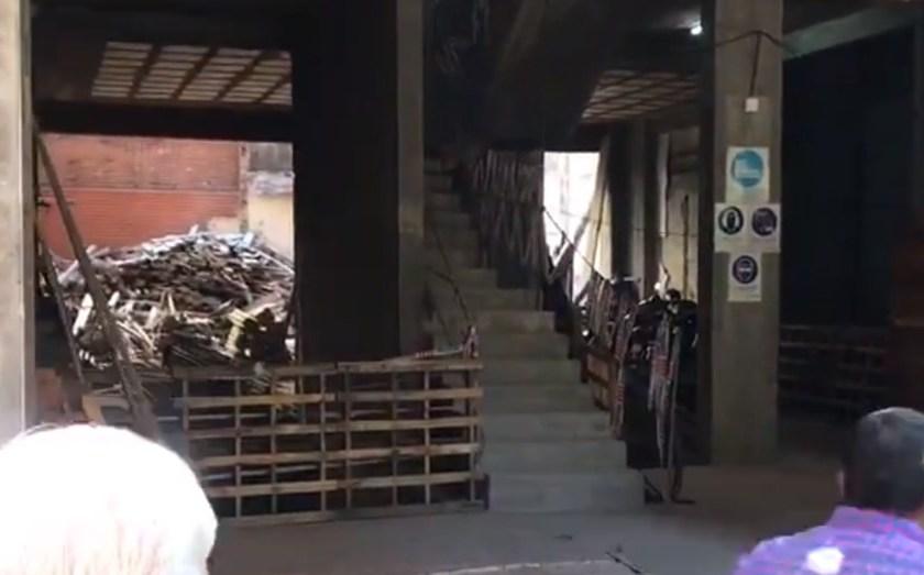 En Marcos Paz al 200: Un obrero herido tras una explosión en una obra en construcción