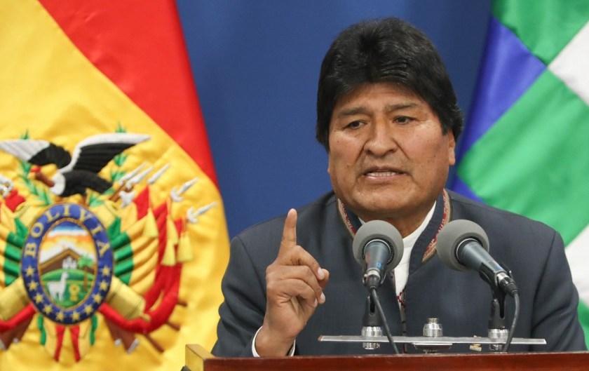 Evo Morales convoca nuevamente a elecciones en Bolivia en medio de las denuncias de fraude