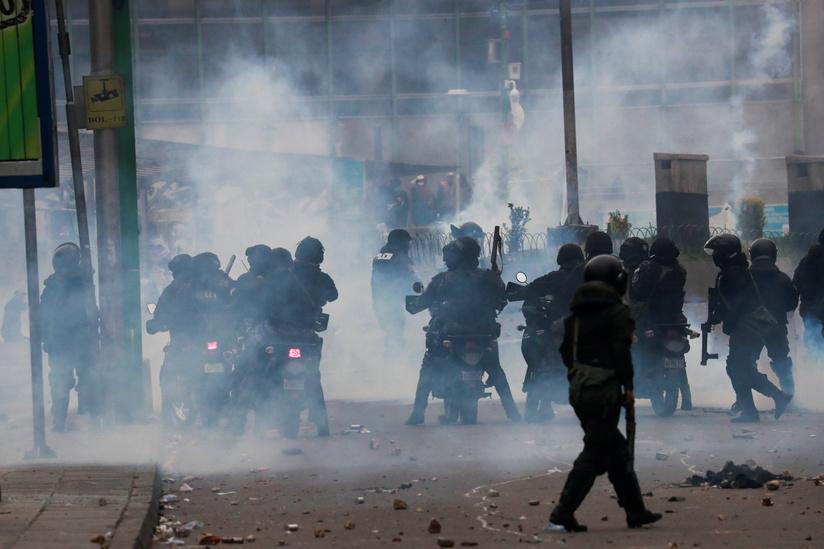 Bolivia: violentos enfrentamientos en el centro de La Paz