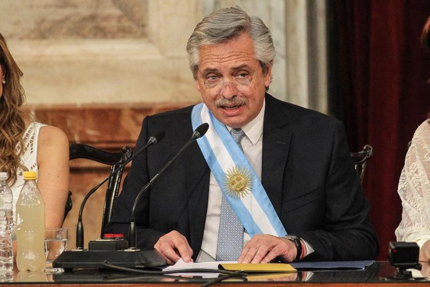 El discurso de Alberto Fernández Presidente (VIDEO)