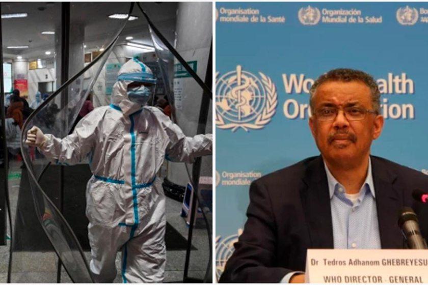 CORONAVIRUS: La OMS  declara la emergencia mundial por el máximo riesgo epidémico