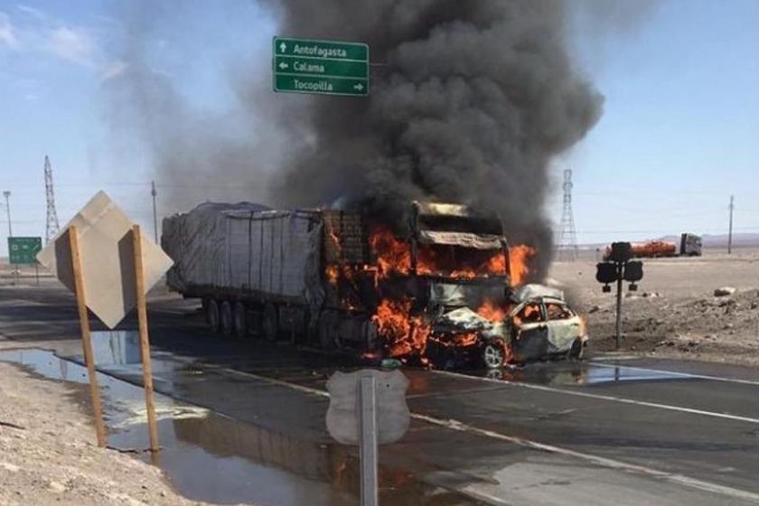 Cuatro tucumanos mueren  en un trágico choque en Antofagasta, Chile